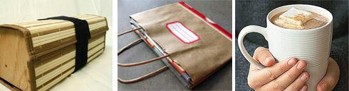 bamboo box | organizer tote | hot cocoa