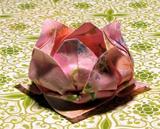8-petal origami lotus