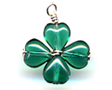 Clover Pendant Charm | St. Patrick's Day craft