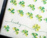 Lucky Clover Speciman Art | St. Patrick's Day craft
