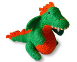 knit dragon softie