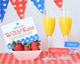 royal wedding party printables