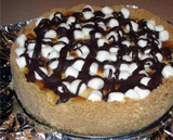 S'mores gluten-free cheesecake