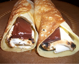 S'mores crepes