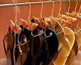Flip flop and ballet shoe hangers