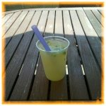 Browntrout Homemade Ginger Ale Slushie