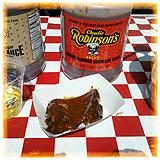 Rib Sampler from Robinson's #1 Ribs