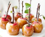Bite-sized Caramel Apples